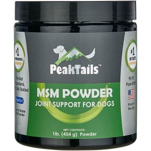 MSM POWDER JOINT SUPPORT FOR DOGS Unflavored