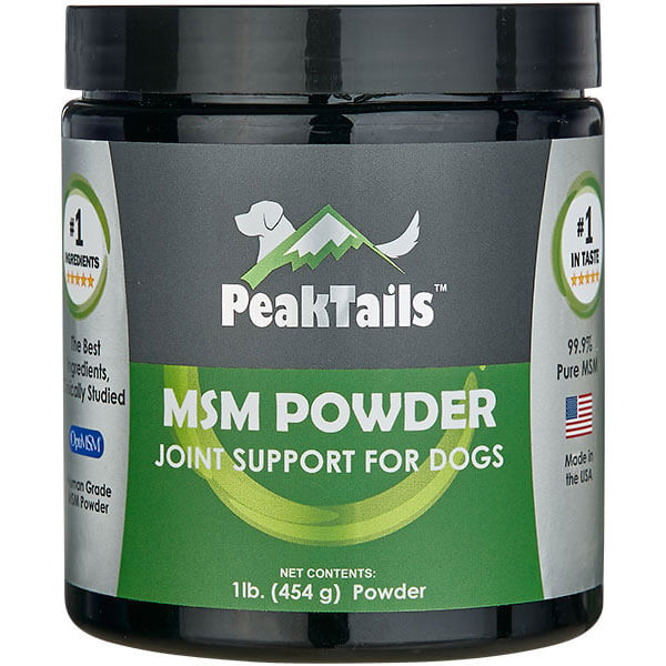 PeakTails MSM Powder for Dogs