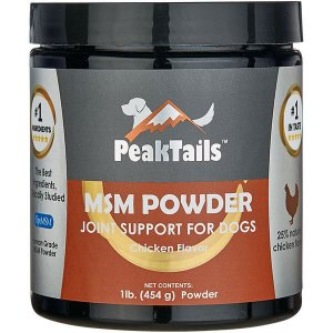 MSM POWDER JOINT SUPPORT FOR DOGS Chicken Flavor