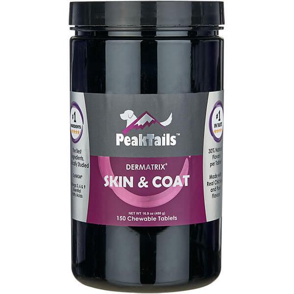 PeakTails Skin & Coat 150Chewable Tablets