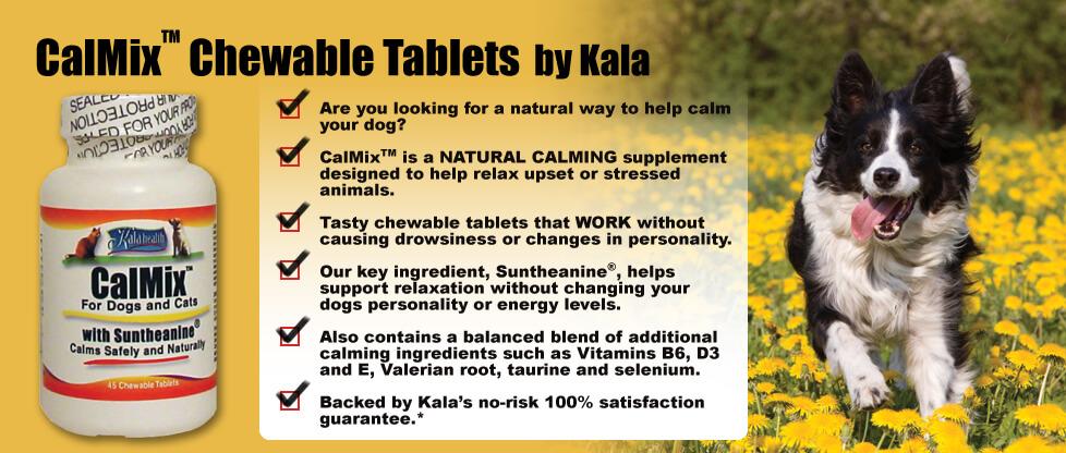 Calmix calming supplement features
