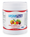 Fruit Punch flavored Coarse MSM Flakes