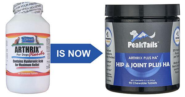 PeakTails Hip & Joint Plus HA 150 Chewable Tablets