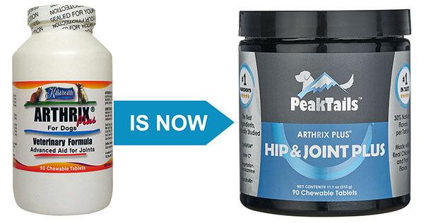 PeakTails Hip & Joint Plus 90 Chewable Tablets