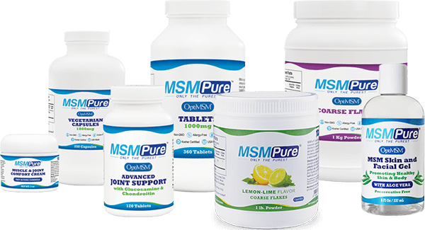 MSMPure Product Collage
