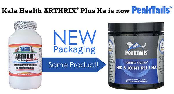 PeakTails Hip & Joint Plus HA (formerly Arthrix Plus HA)